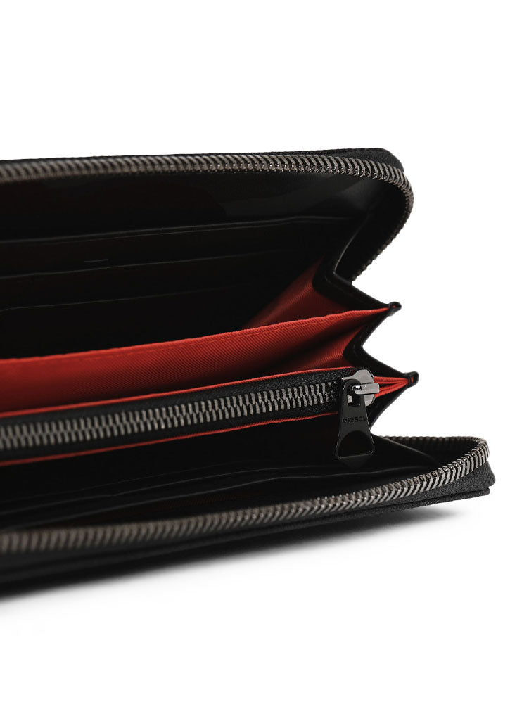 Zip Around Wallet (Black)