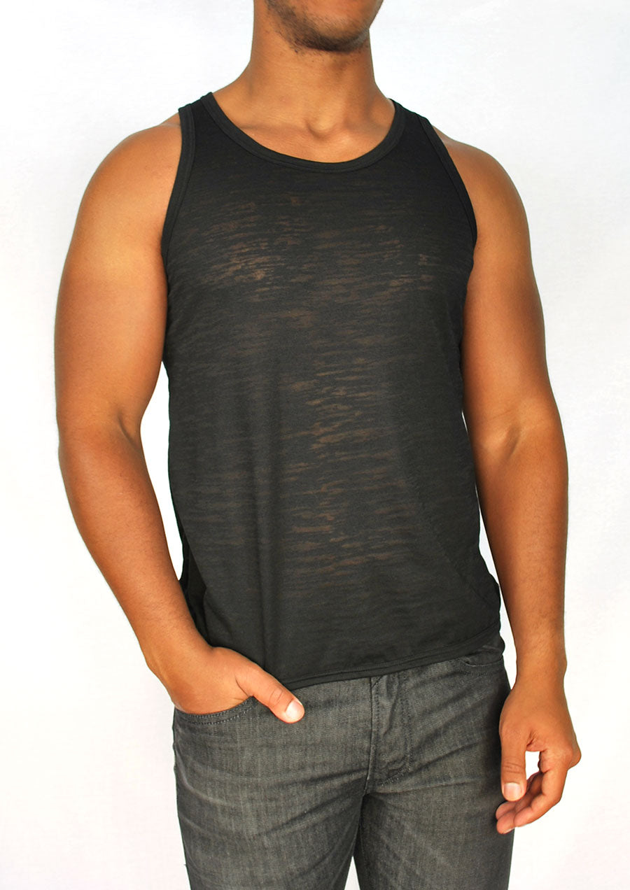 Burnout Tank (Black)