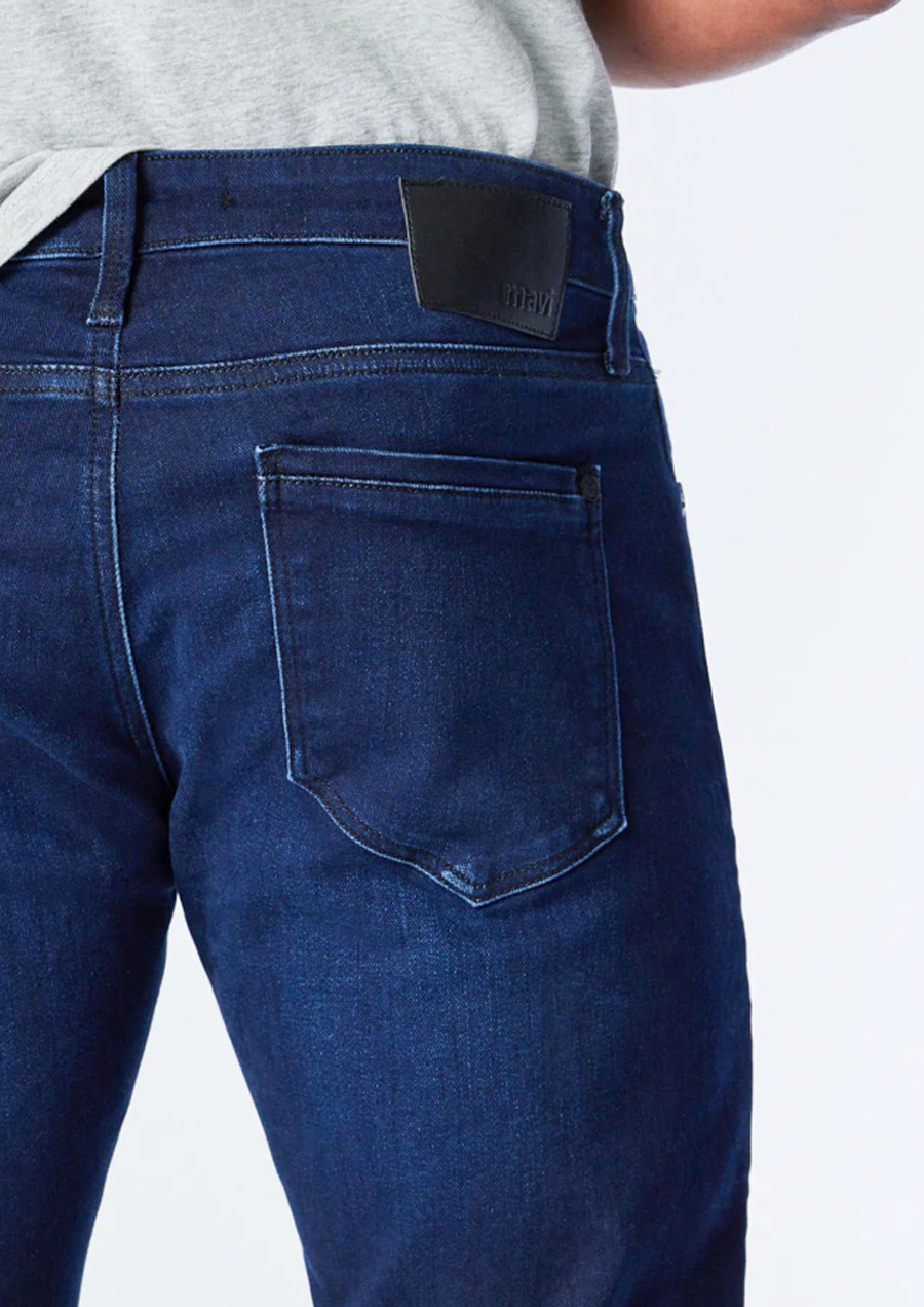 Blue Leaves Linen Shirt