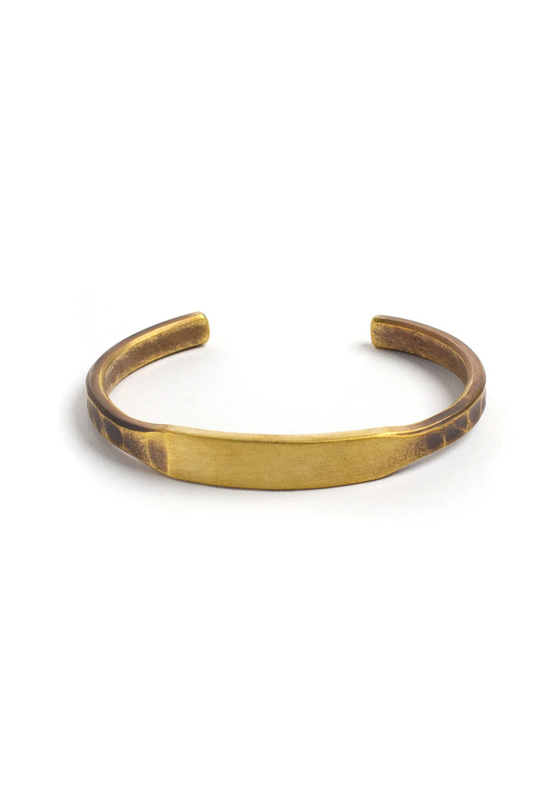 ID Cuff (Brass, Copper or Sterling Silver)