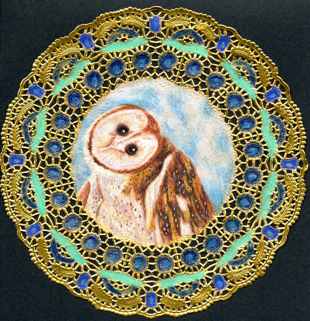 Barn Owl original drawing