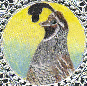 Bookmark: California Quail