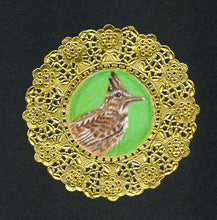 Load image into Gallery viewer, Crested Lark Doily