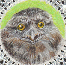 Load image into Gallery viewer, Bookmark: Frogmouth Bird