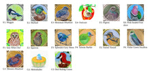 Load image into Gallery viewer, Round Locket - your choice of bird design
