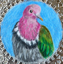 Load image into Gallery viewer, Bookmark: Pink Headed Fruit Dove