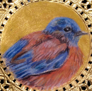 Bookmark: Western Bluebird