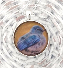 Load image into Gallery viewer, Mountain Bluebird Pendant
