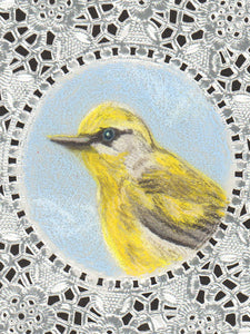 Brewster's Warbler Greeting Card