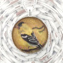 Load image into Gallery viewer, American Goldfinch Pendant