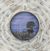 Load image into Gallery viewer, Loon Pendant