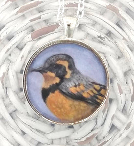 Varied Thrush Pendant