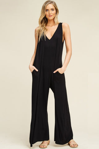 EASY DOES IT HOODED JUMPSUIT