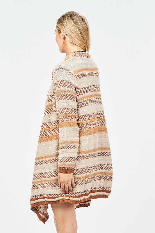 DESERT VALLEY CARDIGAN- beige