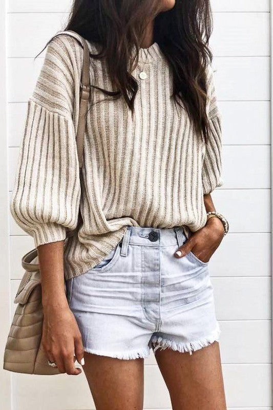 REMI KNIT SWEATER TOP