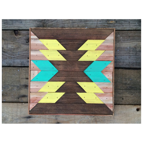 WOOD INLAY WALL ART by: a36goods