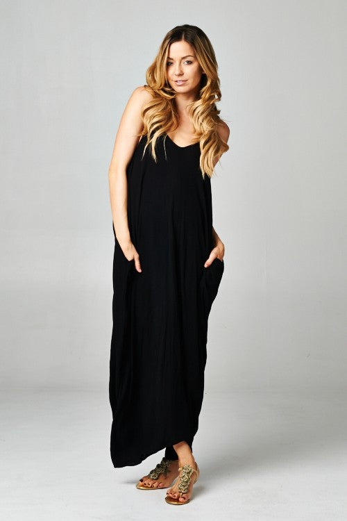 ENDLESS SUMMER DRESS- black
