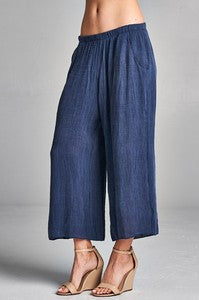 BEACH DAYS WIDE LEG PANT