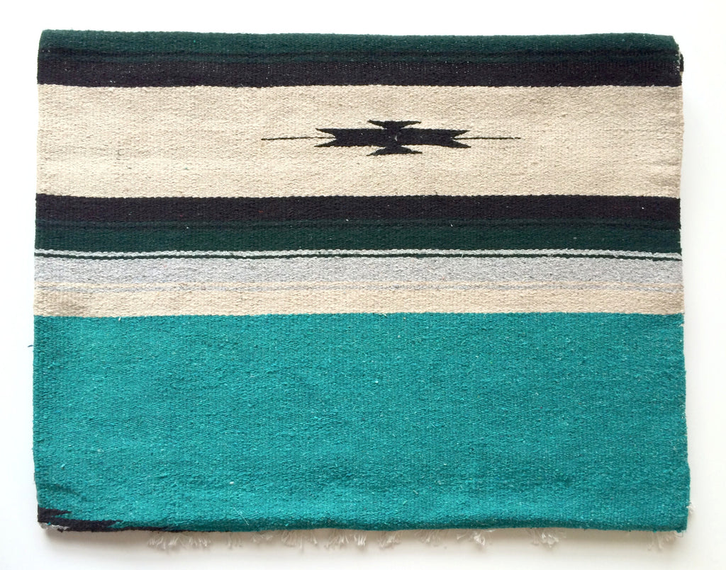 WILD WEST BLANKET- teal