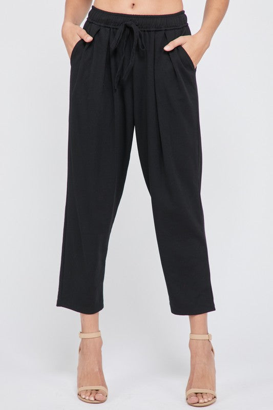 SHERONA TROUSERS- black