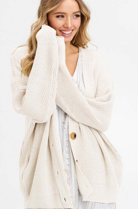 EASY MORNINGS CARDIGAN
