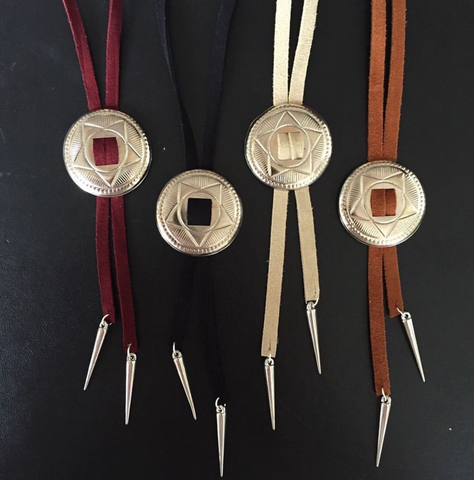 SINGLE SUEDE BOLO- BLACK, BROWN, or BEIGE