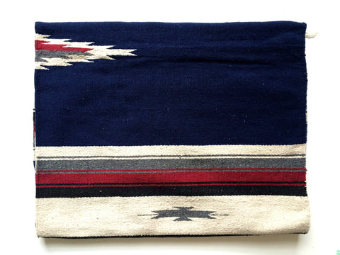 WILD WEST BLANKET- navy