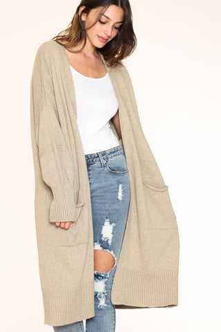 ON THE RUN CARDIGAN