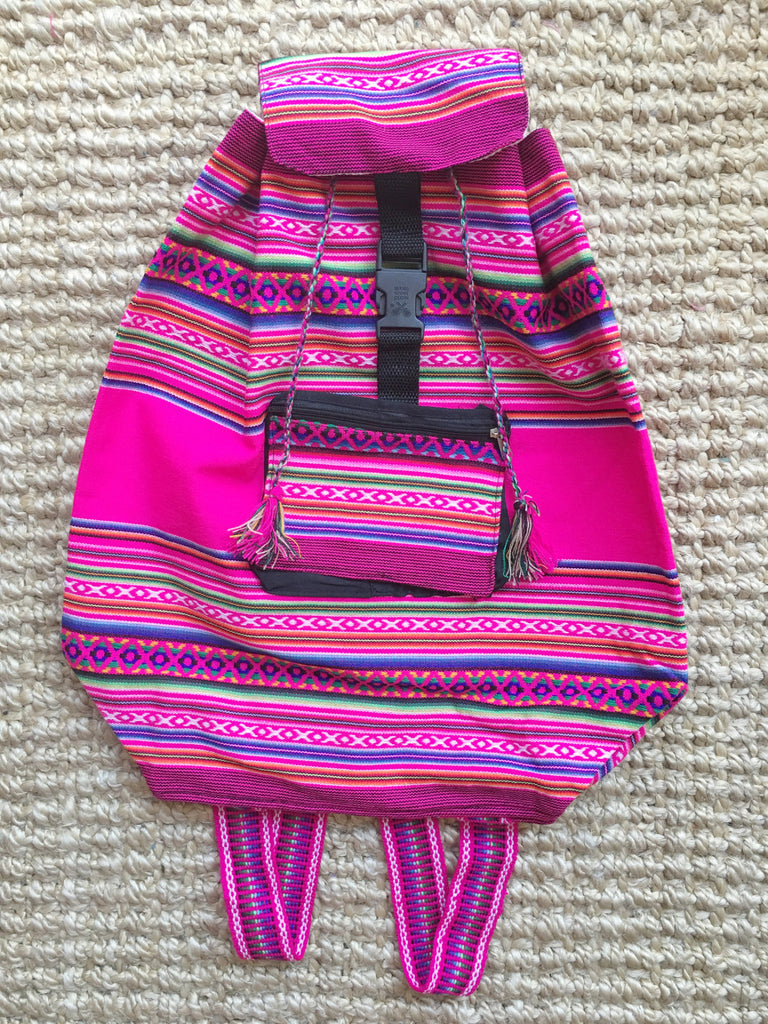 CUSCO BACKPACK- pink