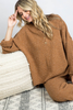 SWEATER SET- camel