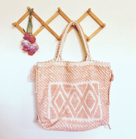 DREAM WEAVER BAG II-pretty in pink