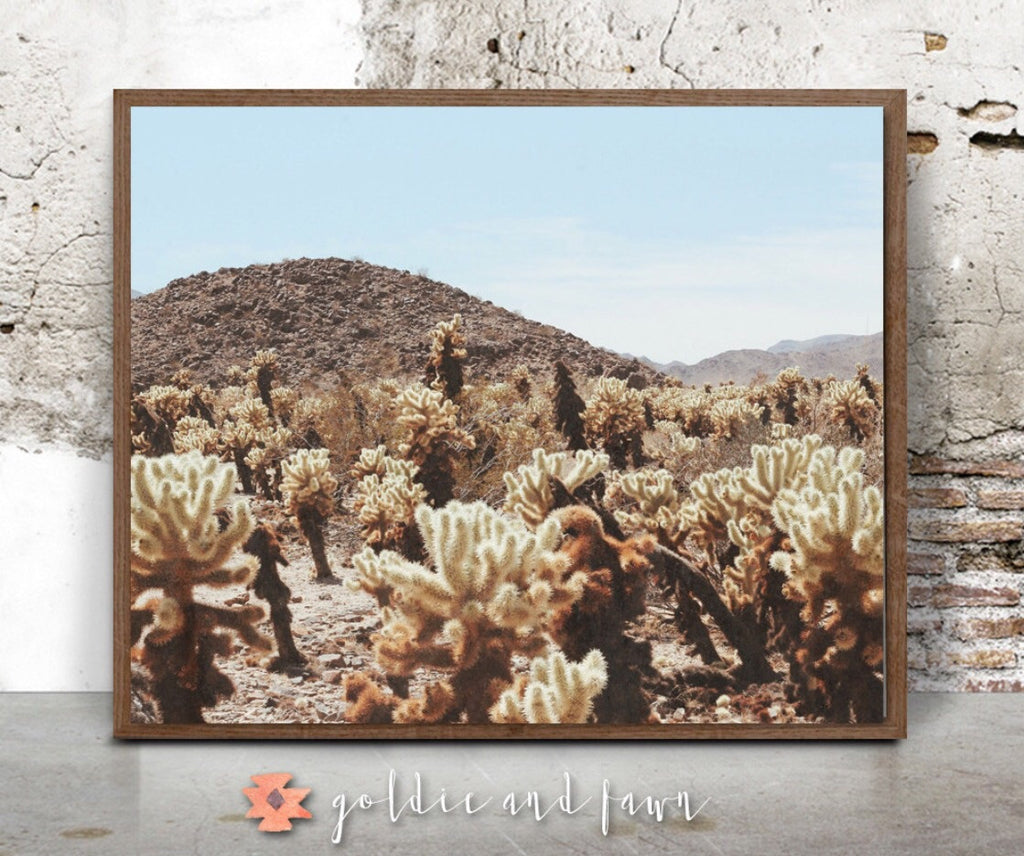 DESERT LANDSCAPE PRINT by: goldie&fawn
