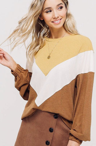 BUTTERSCOTCH PULLOVER