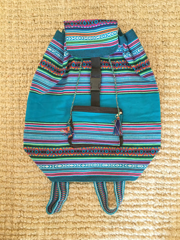 CUSCO BACKPACK- teal
