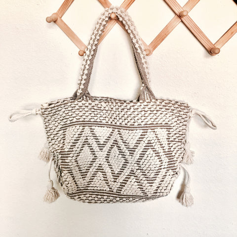 DREAM WEAVER BAG-natural