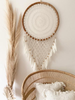 RATTAN DREAM CATCHER WITH FEATHERS