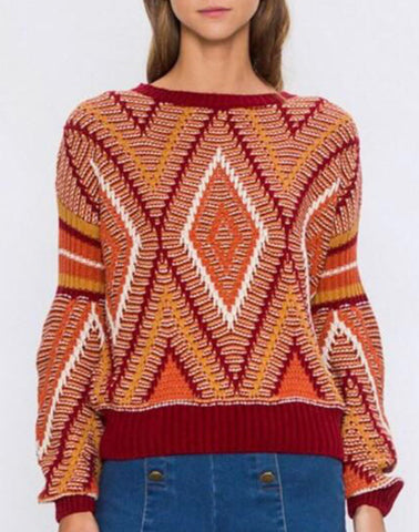 SUNRISE SUNSET SWEATER