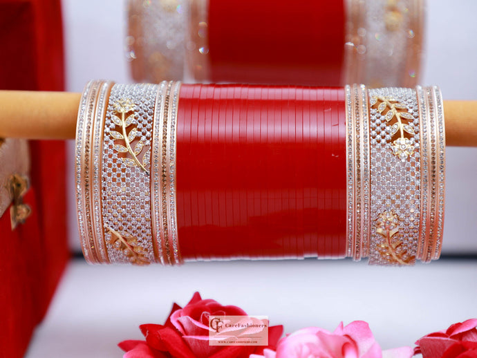 AD-Stone-Red-Bridal-Traditional-Chura