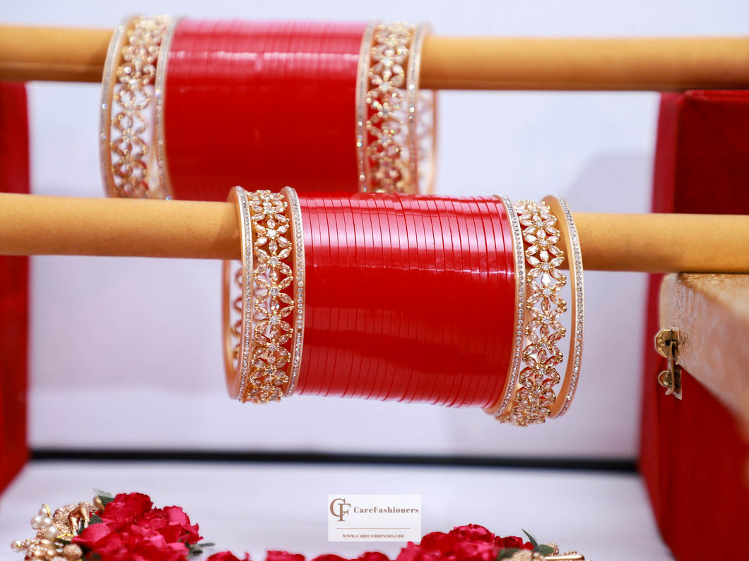 American-Diamond-Red-Bridal-Chura