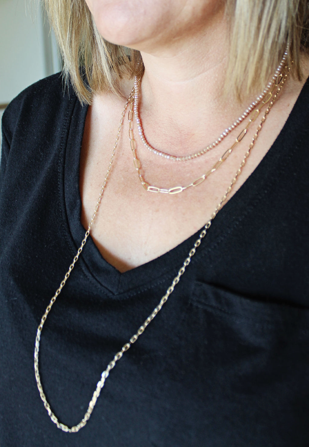 Rebecca Rose Layered Necklace