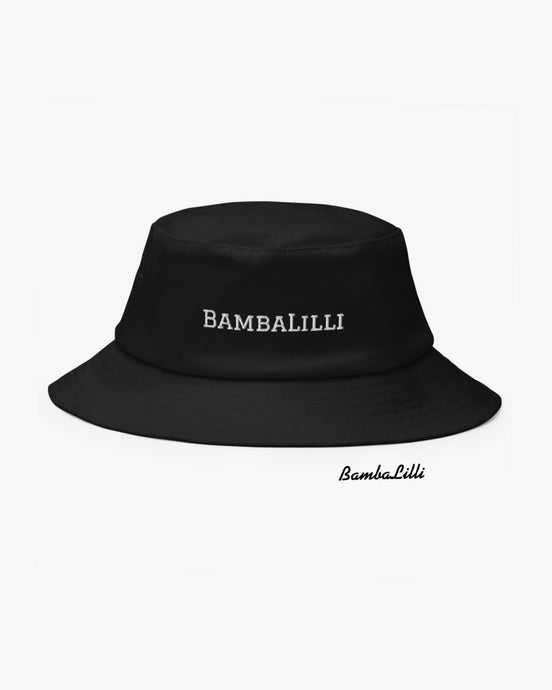 The 'Inky' Bucket Hat - BambaLilli