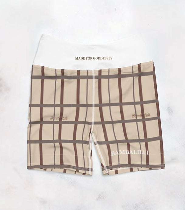 The 'Latte' Yoga Shorts - BambaLilli