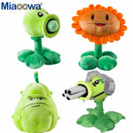 30cm Plants vs Zombies Plush Decorations Toy Chomper Plants vs.Zombies 2 Figurine Pea Sunflower Melon Stuffed Doll for Kids Gift