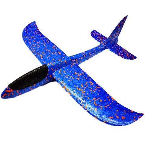 36cm DIY Hand Throw Flying Glider Planes Toys For Children Foam Aeroplane Model Party Bag Fillers Flying Glider Plane Toys Game