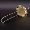 Double Layer Mesh Cocktail Strainer Gold