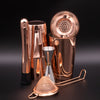 8 Piece Copper Plated Cocktail Set
