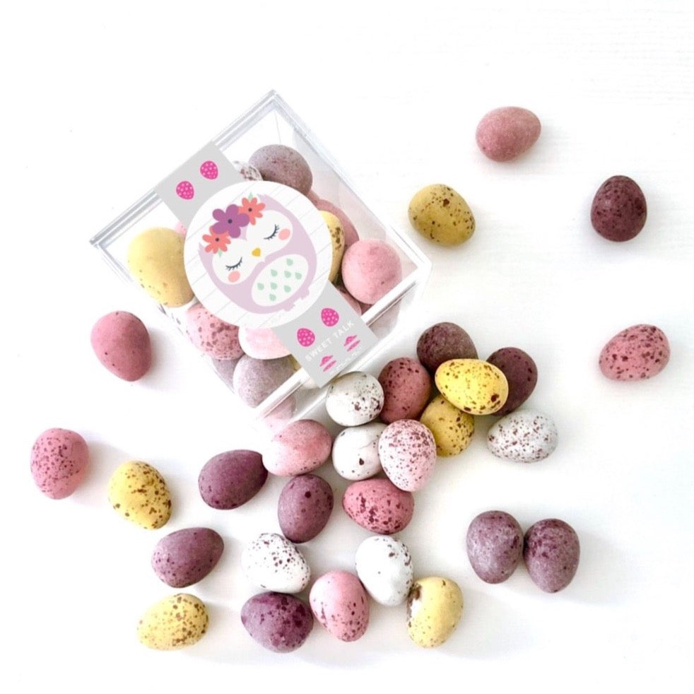 Speckled Eggs Candy Cube Gift by Sweet Talk