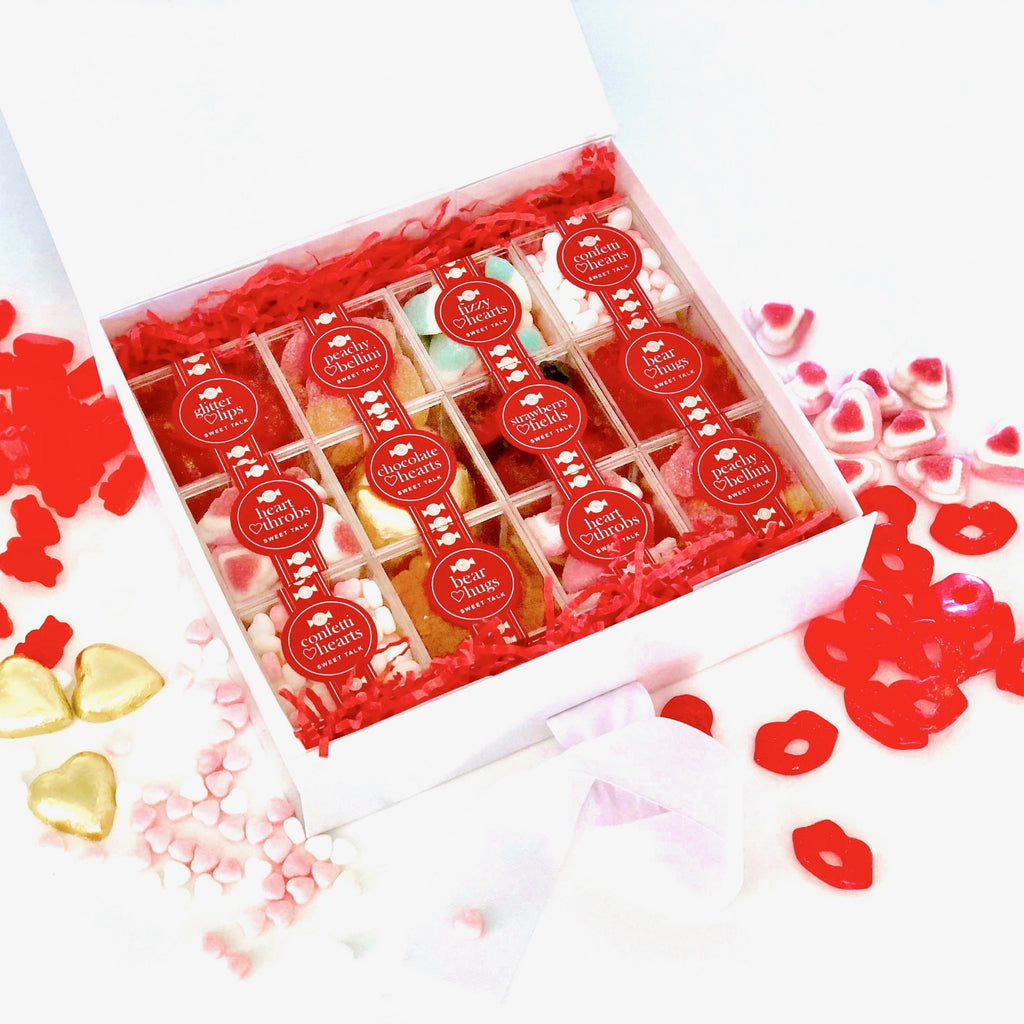 Sweetest Valentines Candy & Chocolate Gift Box
