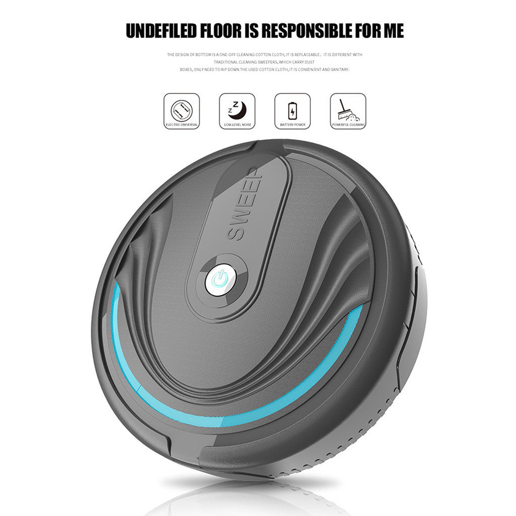 Robotic Vacuum Cleaner for home Full Automatic Mini Vacuuming Robot Household Appliances Charging Sweeper USB Charging cable
