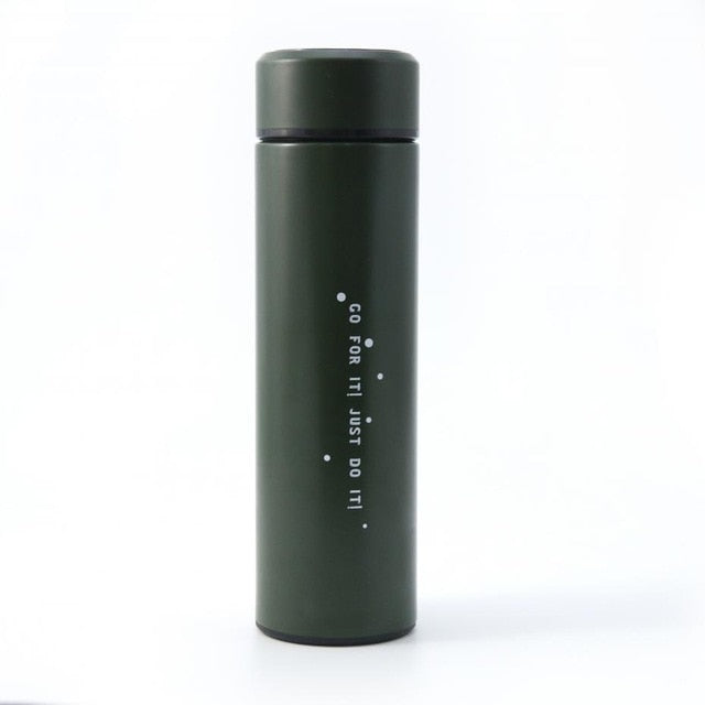 Temperature Display Customize Thermal Cup garrafa termica 304 Stainless Steel Intelligent Thermal Insulation Vacuum Flask